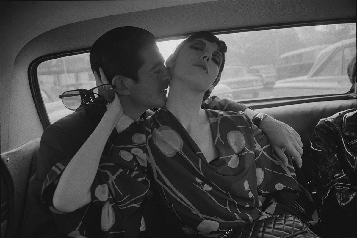 "Dennis Hopper, ""Irving Blum and Peggy Moffitt"", 1964"