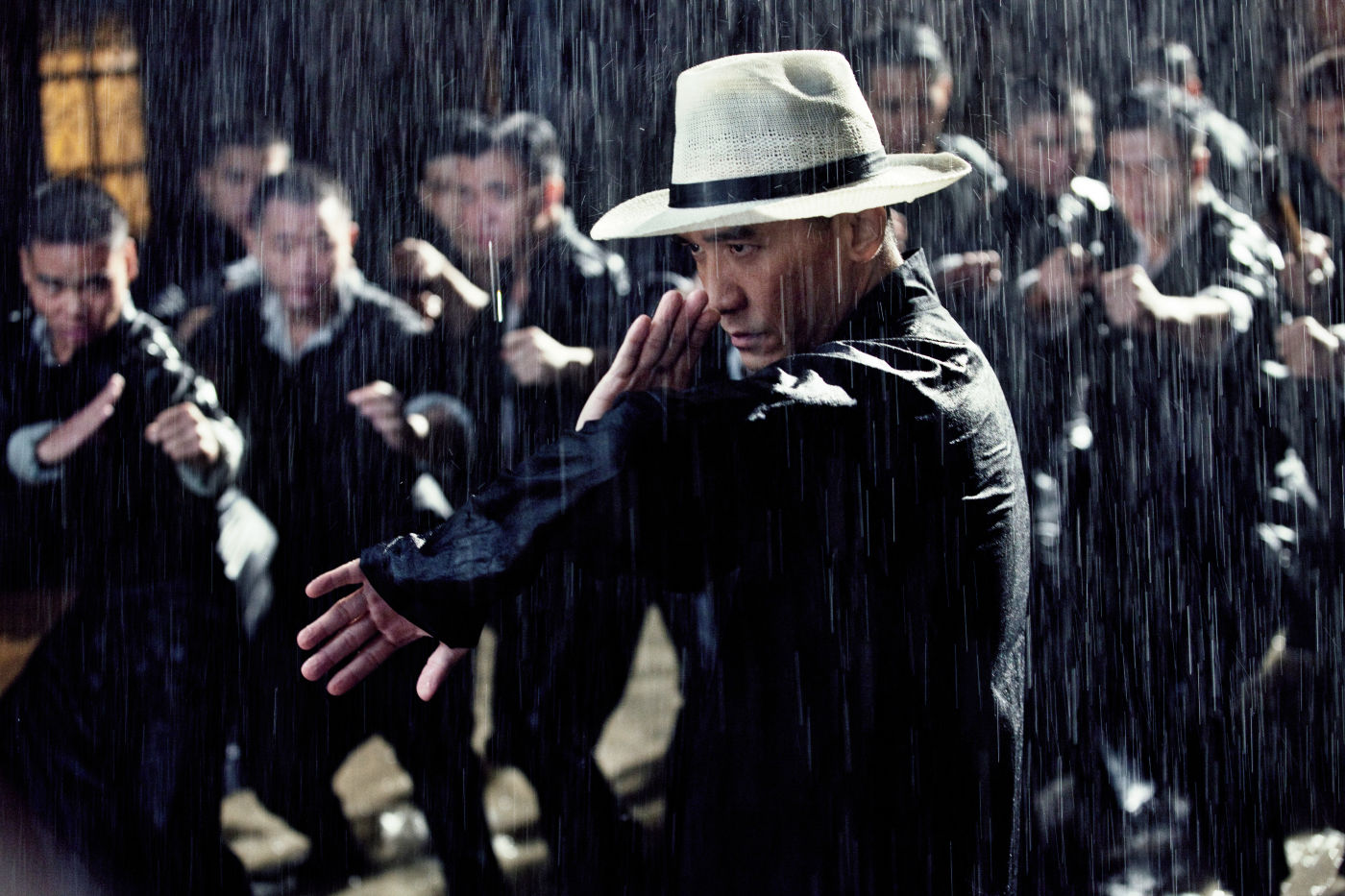 "Tony Leung as Wing Chun master Ip Man in Wong Kar-wai's ""The Grandmaster""."