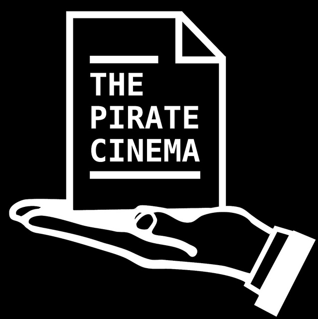 "Logo for Nicolas Maigret's project ""The Pirate Cinema""."