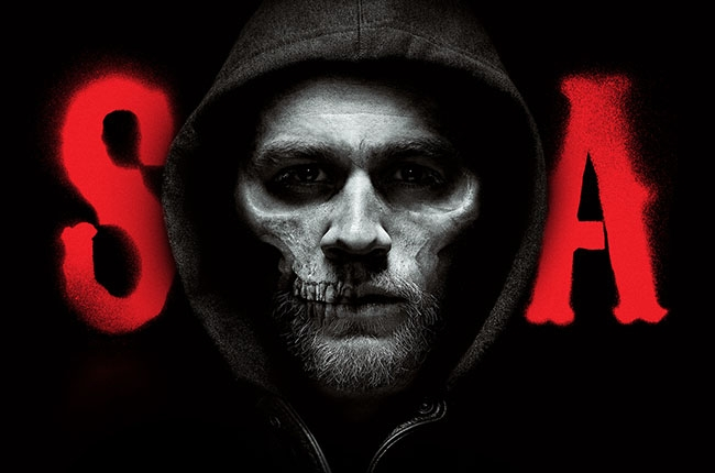 Publicity image for Sons of Anarchy, final season.