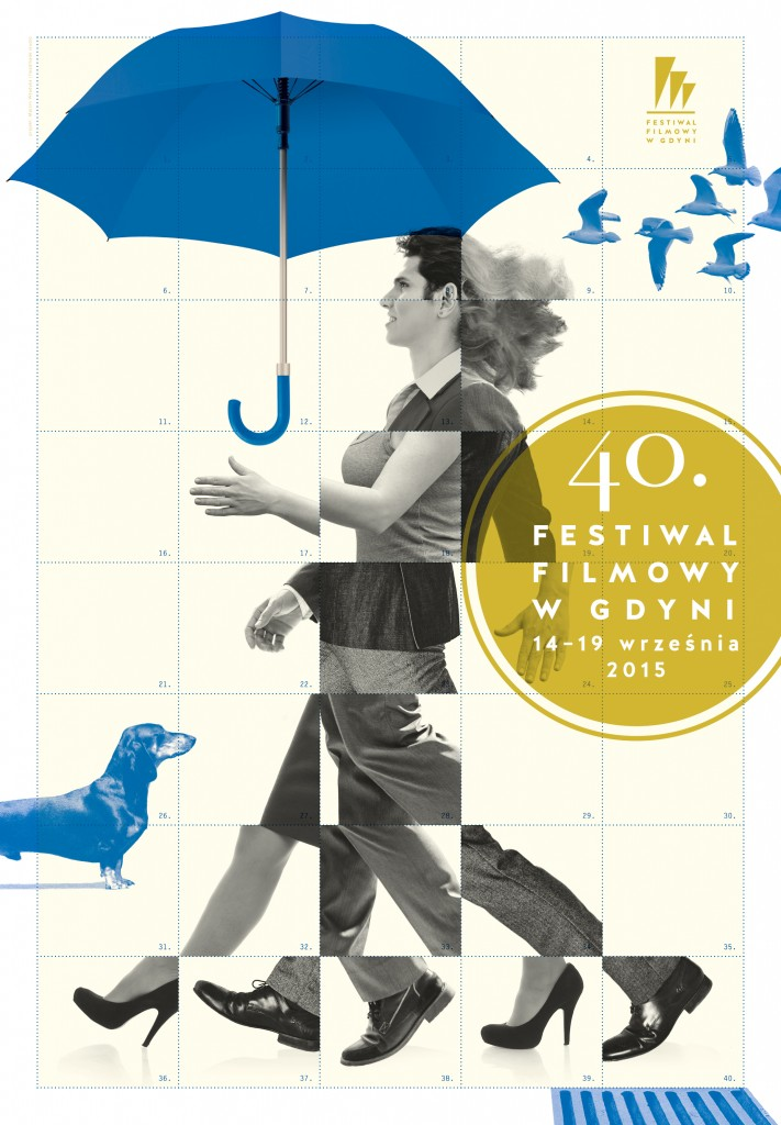 Poster for the 40th Gdynia Film Festival.