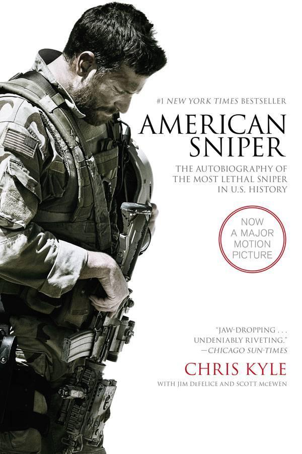 """American Sniper"" by Chris Kyle. Film Tie-in Edition."