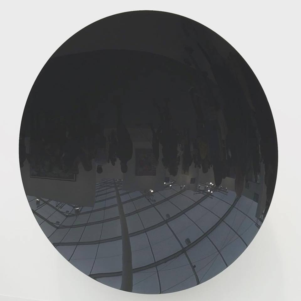 "Anish Kapoor, ""Untitled (Storm Grey)"", 2015, at Lisson Gallery."