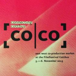 Logo for Connecting Cottbus co-production market 2015.