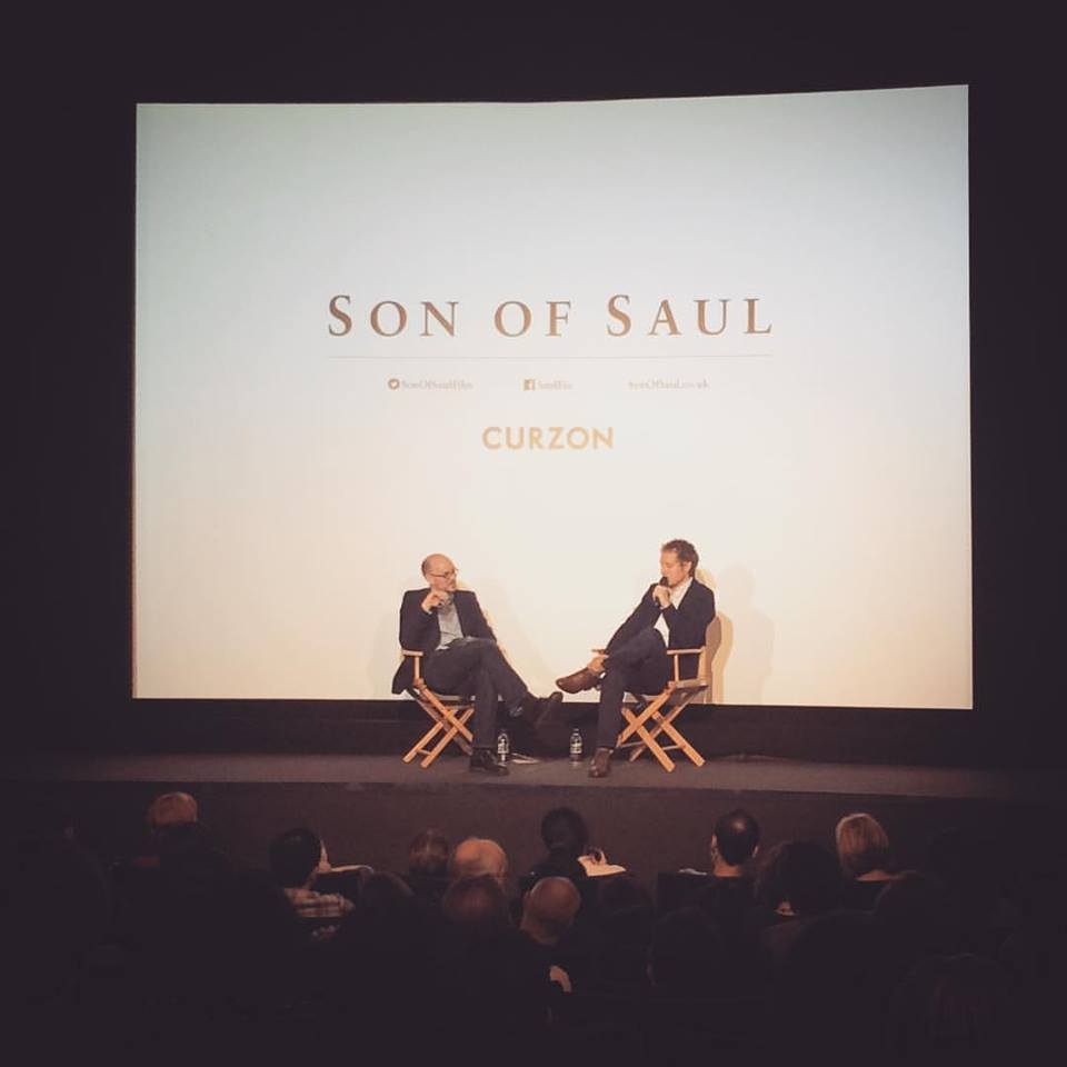 Professor Nikolaus Wachsmann in conversation with László Nemes at Curzon Soho.