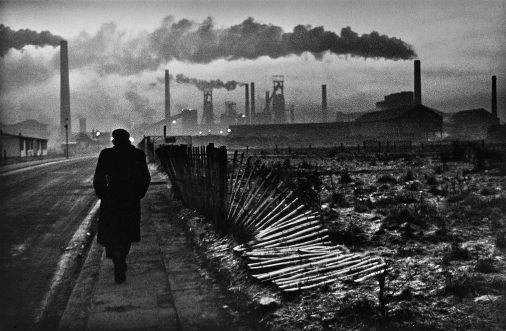 """Early Morning, West Hartlepool"", 1963, © Don McCullin, courtesy Hamiltons Gallery"