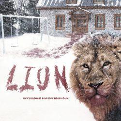 "Official poster for Davide Melini's short film ""Lion"""