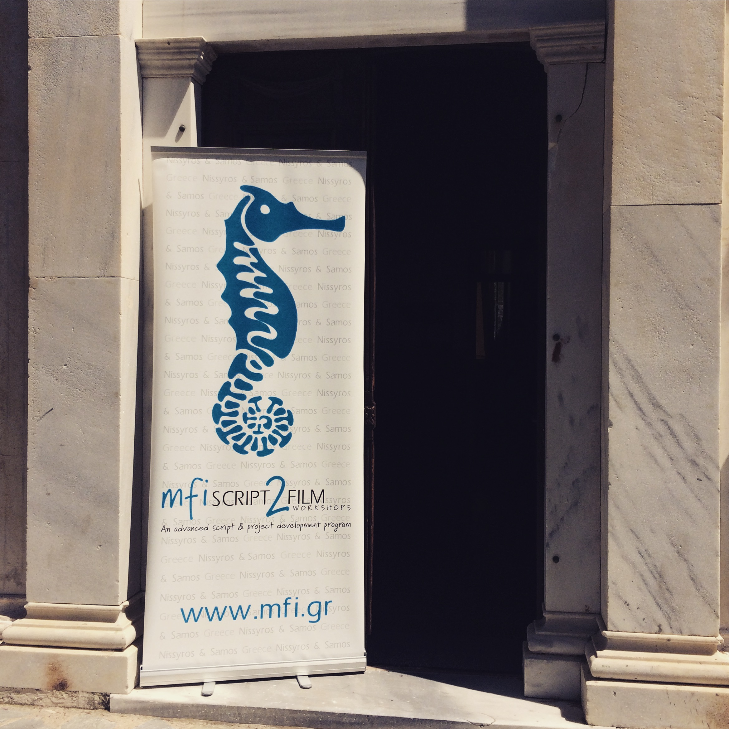 Follow the sea horse not to miss the workshops' training activities.