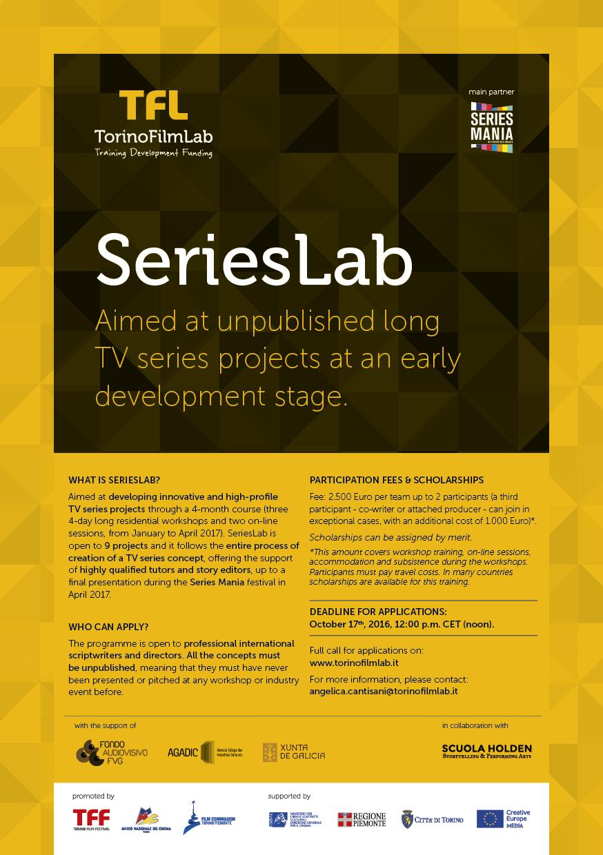TorinoFilmLab SeriesLab Promo Card