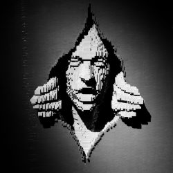 """Sculpture by Nathan Sawaya from """"The Art of The Brick""""."""