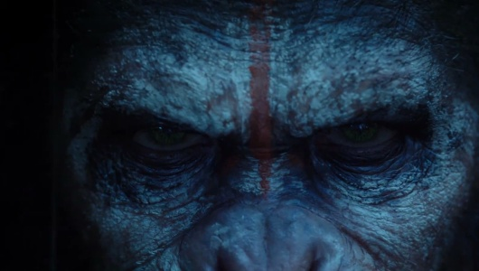 "Caesar in ""Dawn of the Planet of the Apes""."
