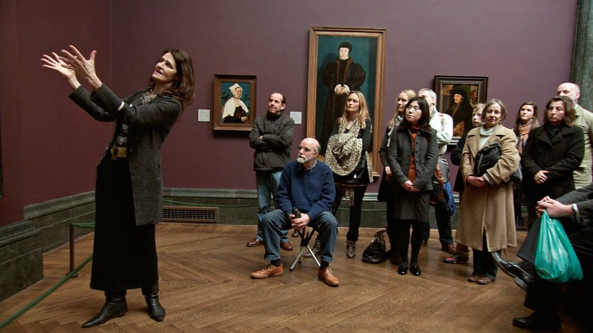 How to introduce an audience to the masterpieces of The National Gallery.