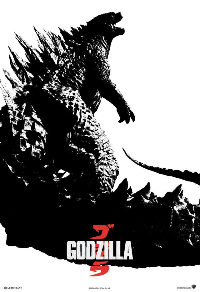"Poster for ""Godzilla"""