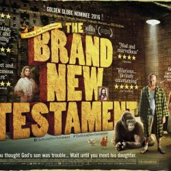 "UK poster for ""The Brand New Testament"""