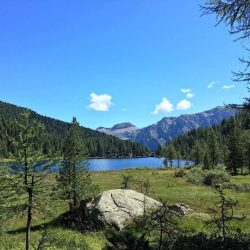 Lake Malghette, on the hiking trails surrounding Madonna di Campiglio.