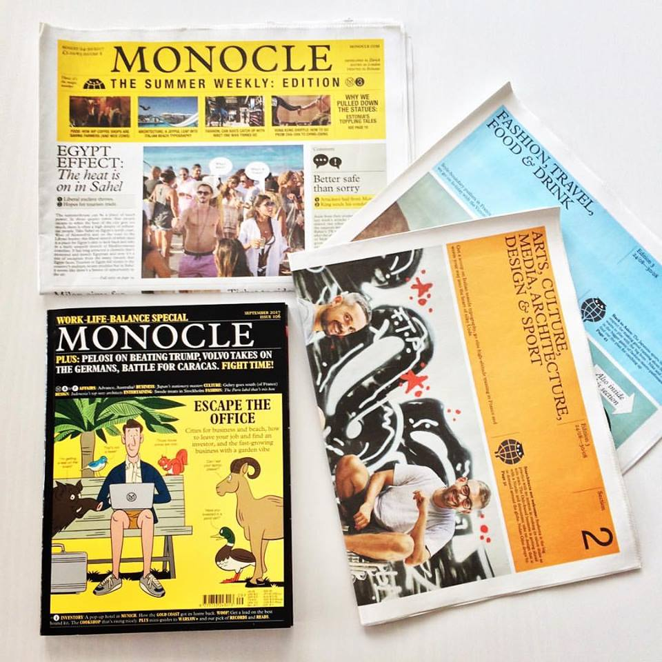 Monocle's September issue and The Summer Weekly edition