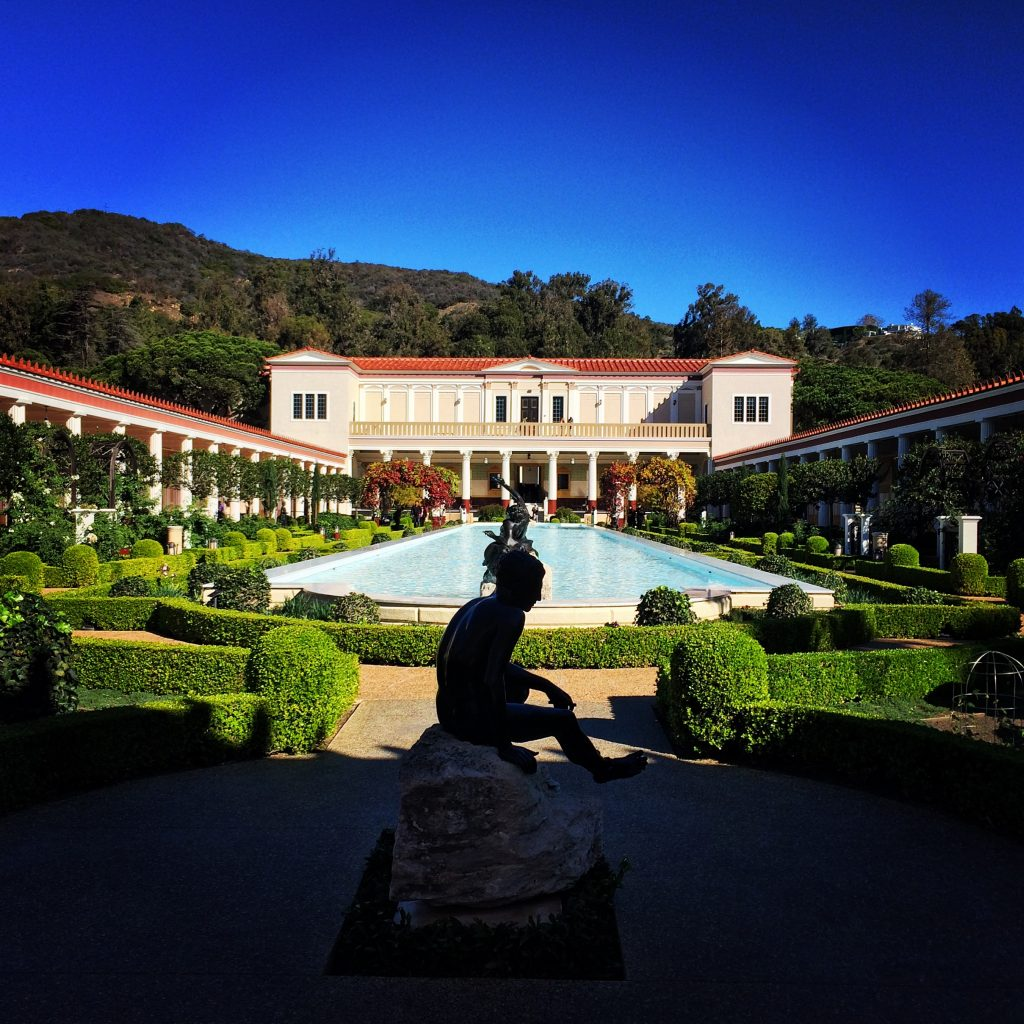 The Getty Villa.