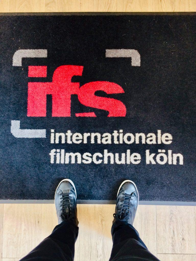 Logo of the internationale filmschule köln
